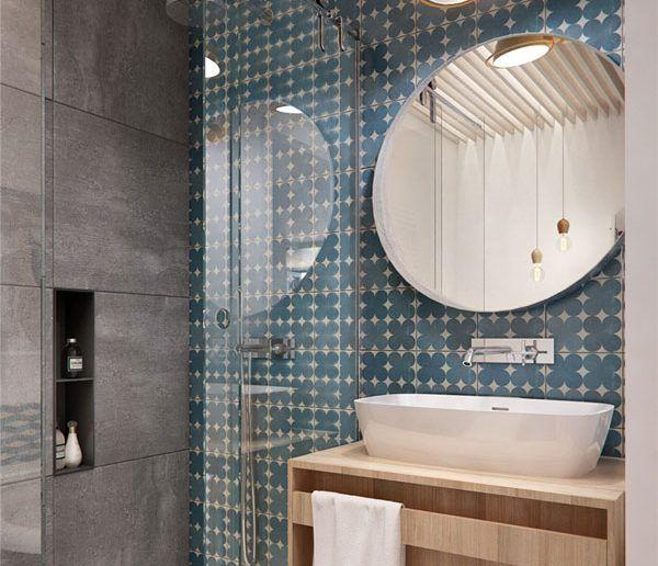 Bathroom coatings: types, models and pictures 2