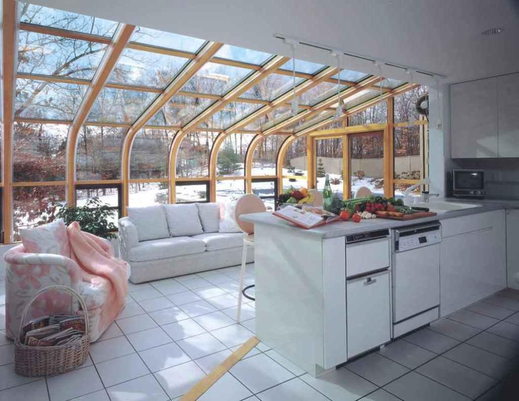 Glass roof: advantages, 60 photos and ideas to be inspired 35