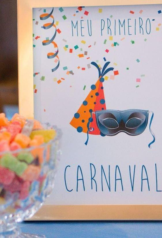 Carnival Decoration: 60 tips and ideas to brighten up your party 15