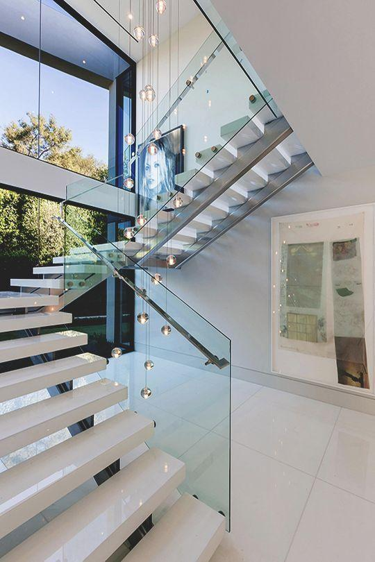 Stainless steel handrail: see tips and 60 models with photos 22