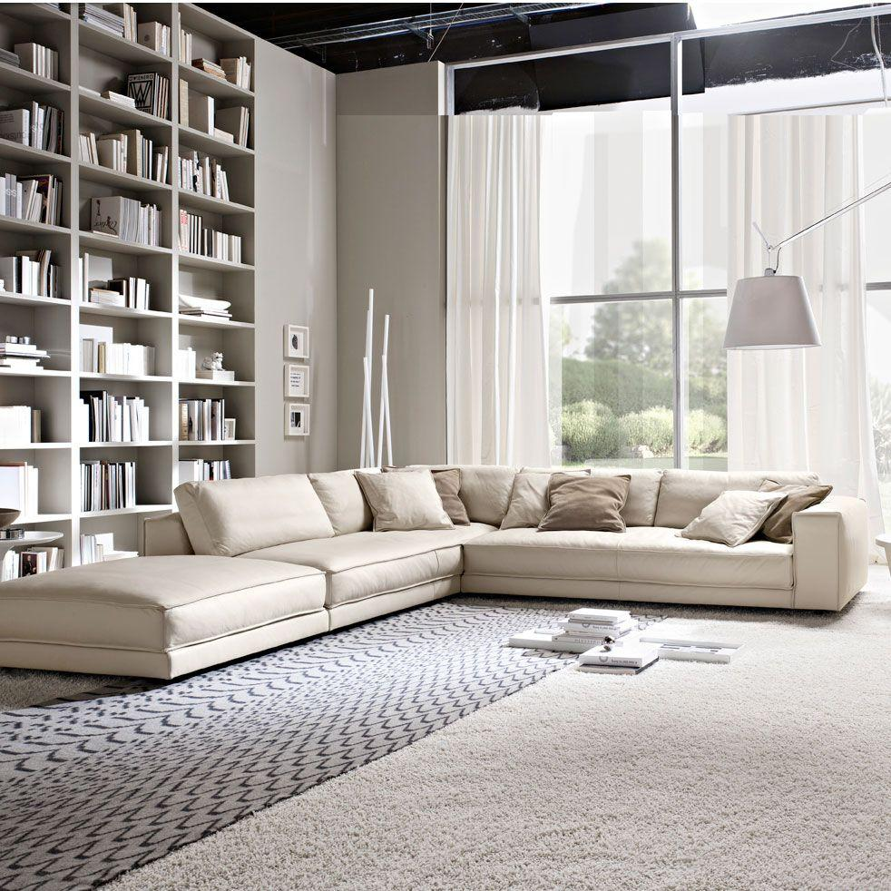 Leather sofa: 70 incredible models to decorate environments 29