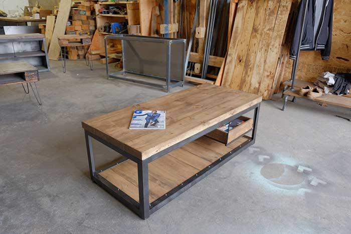 Pallet table: 45 model inspirations and how to make your 4