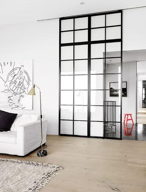 Sliding door: advantages of using and projects with photos 16