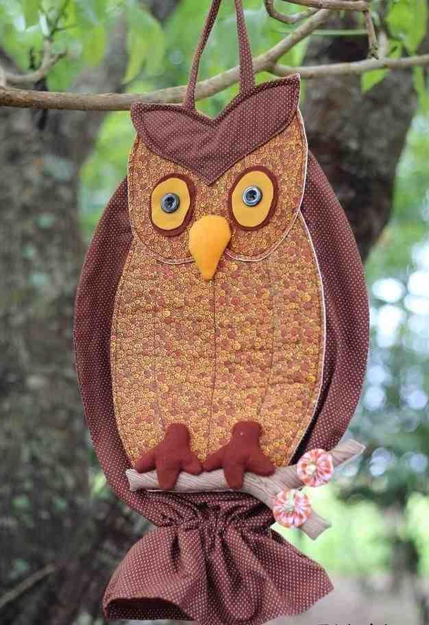 Owl bag pull: 60 ideas with photos and video step by step 14