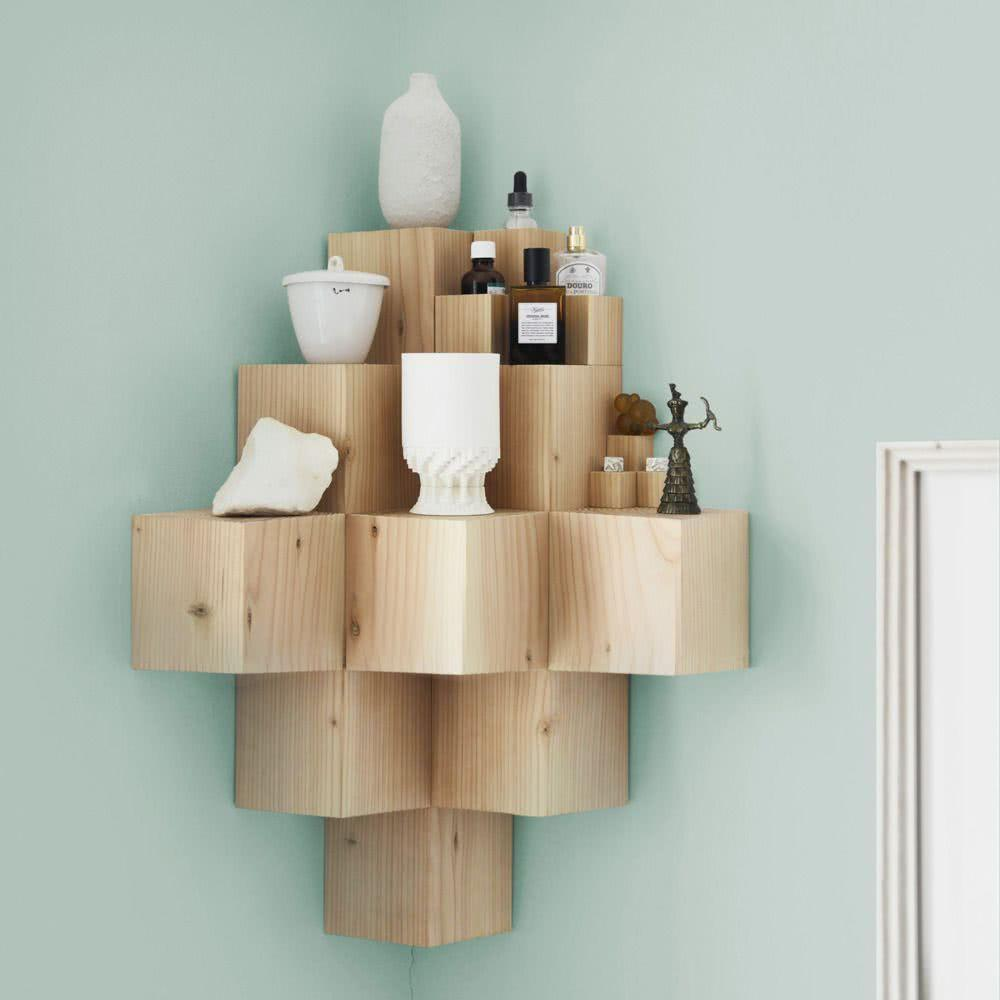 Creative Shelves: 60 Modern and Inspiring Solutions 53
