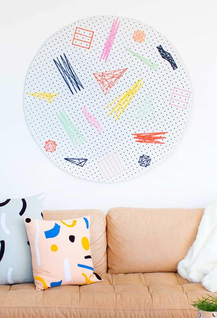 Abstract and colorful shapes to decorate your room