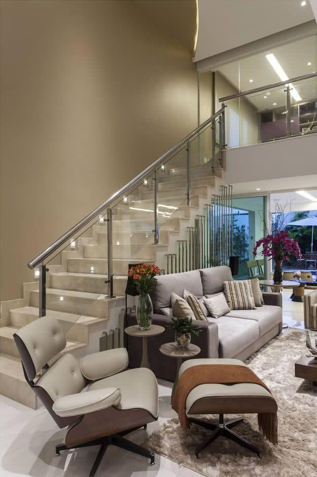 Stainless steel handrail: see tips and 60 models with photos 29
