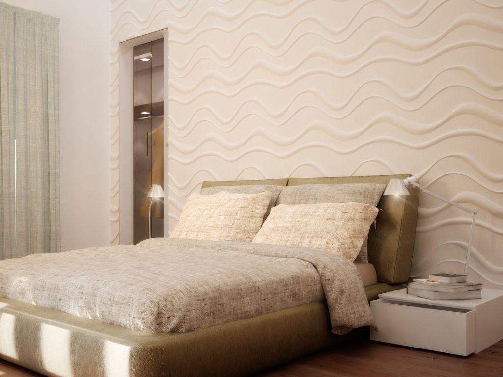 Wall of plaster: 50 ideas with photos and how to make 45