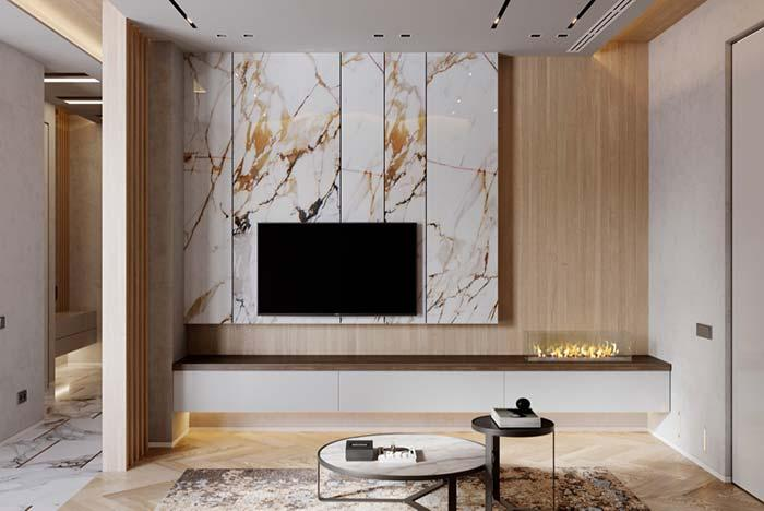 Marble Parana in the decoration