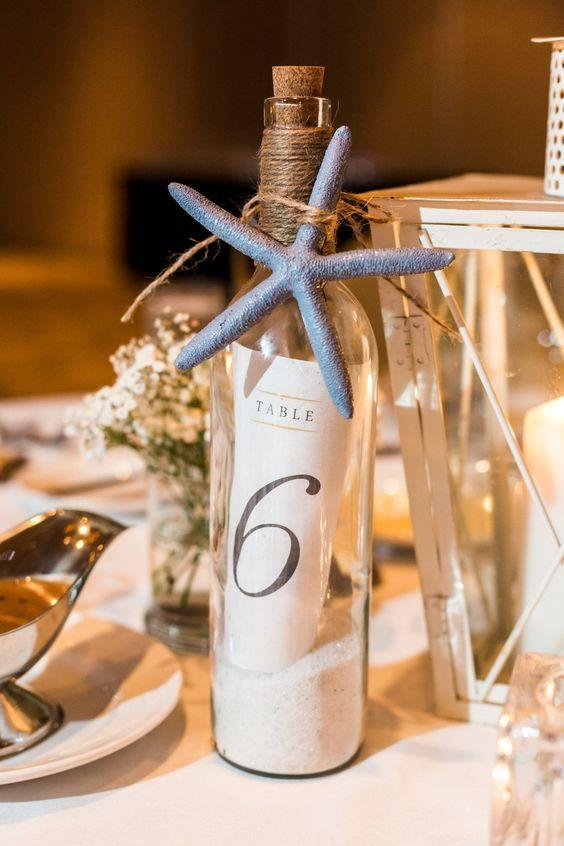 Table Top with Bottle: see beautiful ideas to decorate the table 30