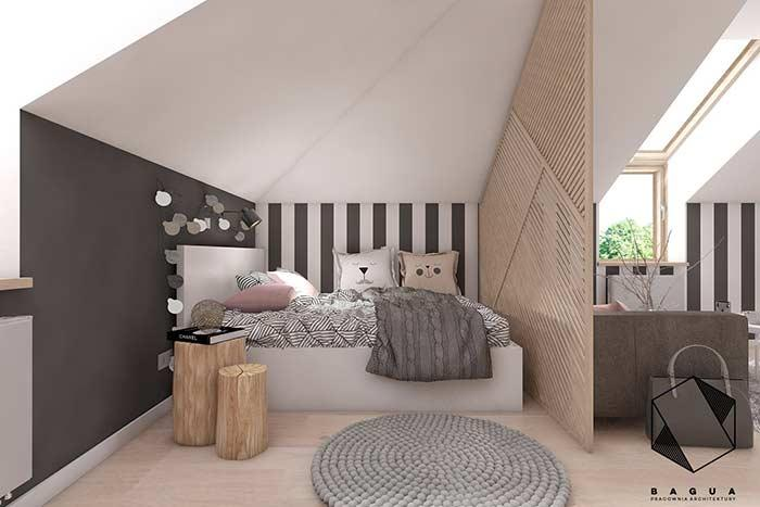 Cozy room in the room