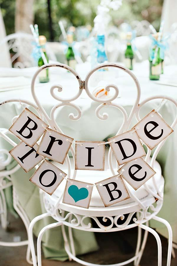 A marked and prominently place for the future bride