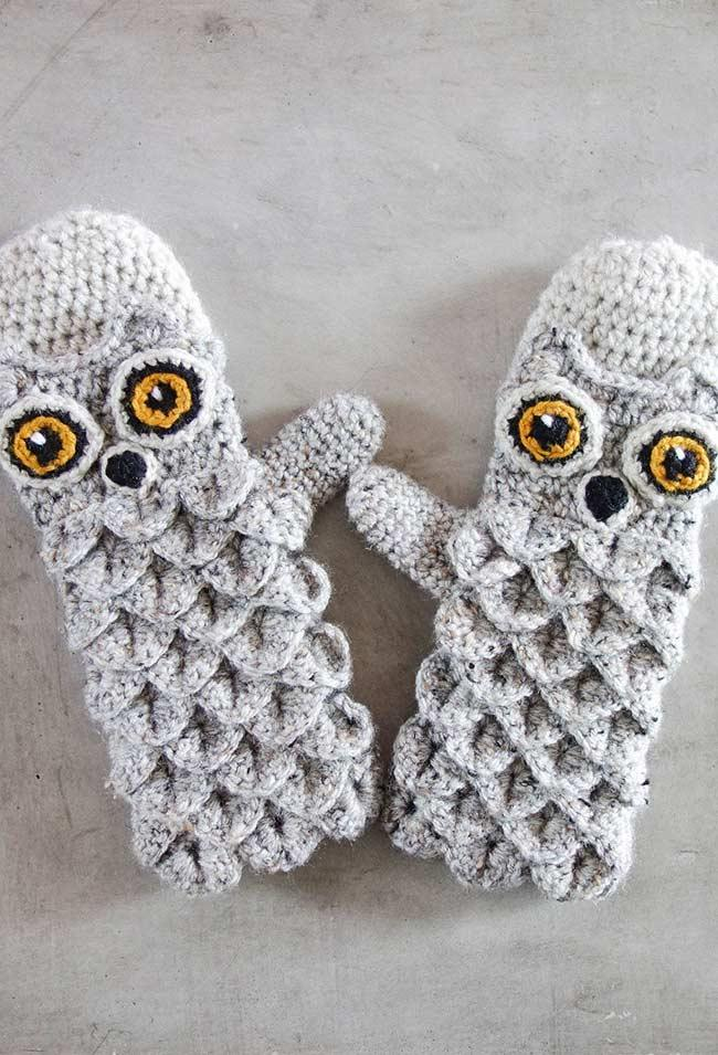 Soft and warm gloves