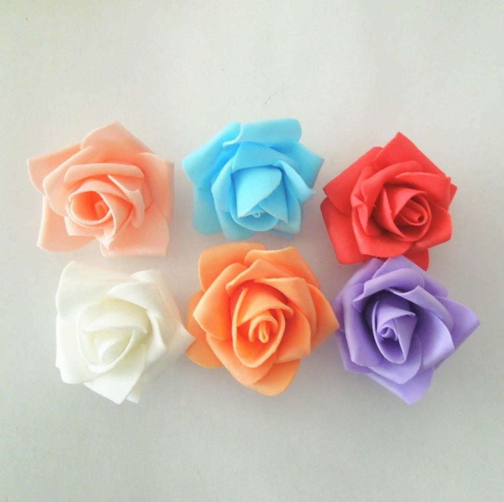 Flowers of EVA: 70 ideas, molds and step by step 11