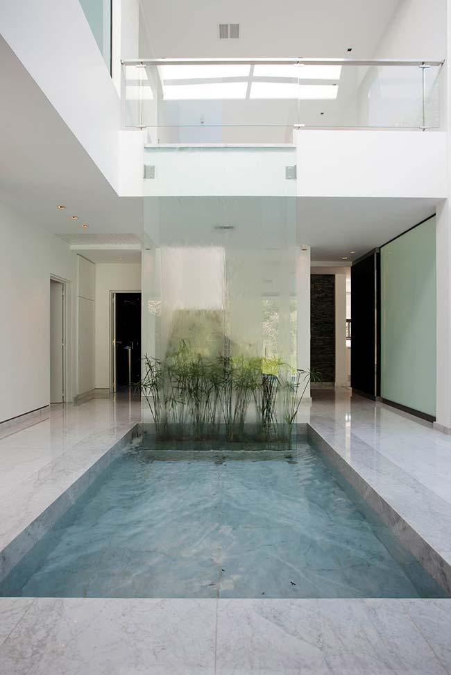 Swimming pool floor in clean and soft environment