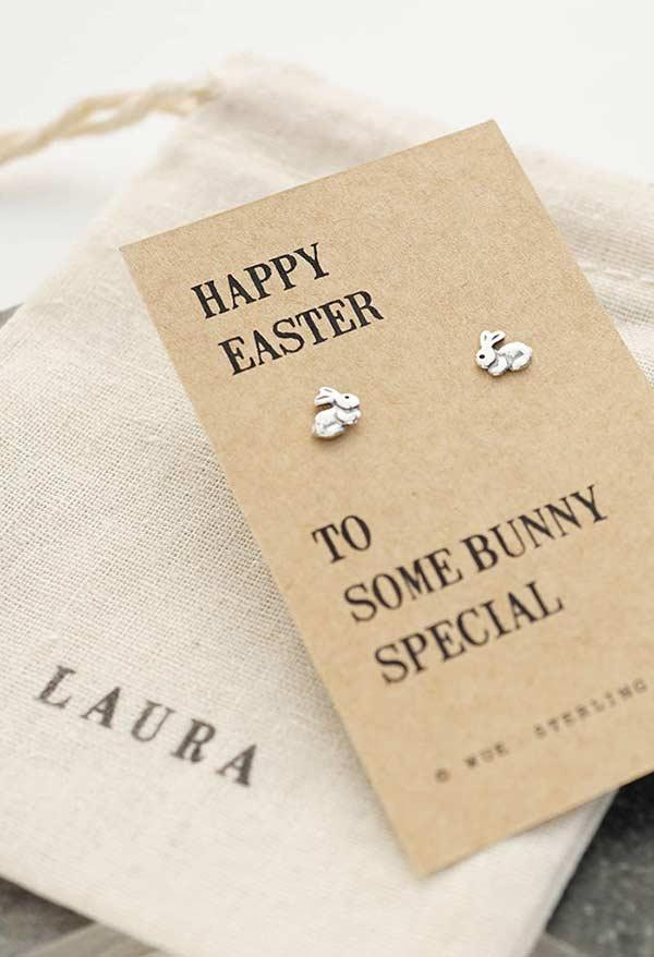 Earrings as an Easter remembrance