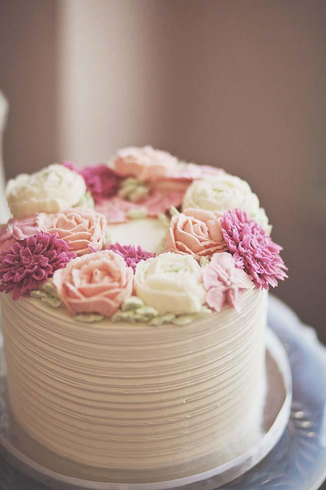 Cake for intimate wedding
