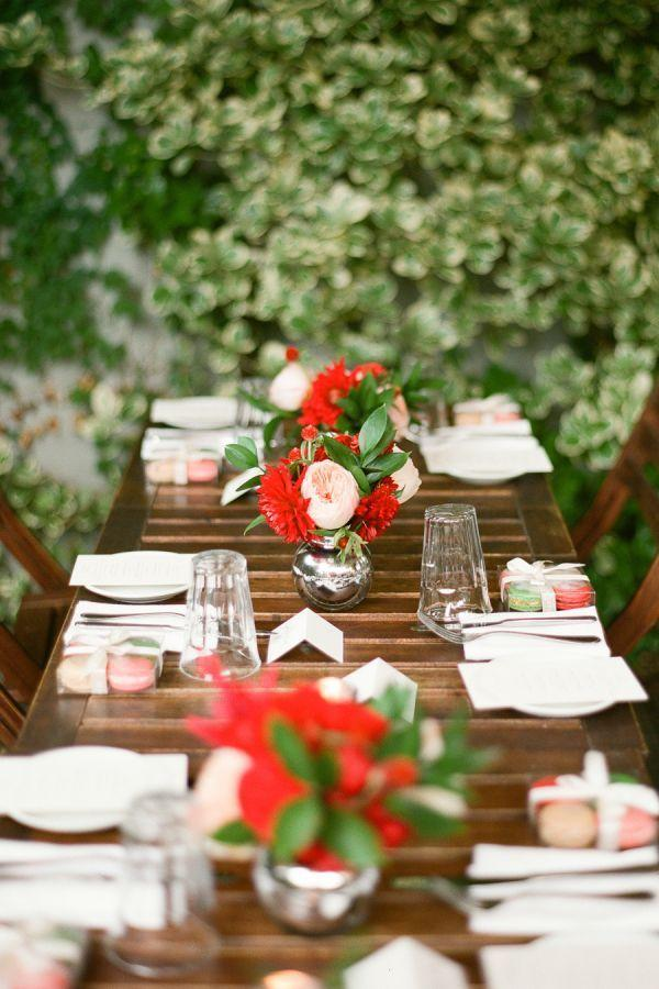 Wedding arrangements: 70 ideas for table, flowers and decoration 23