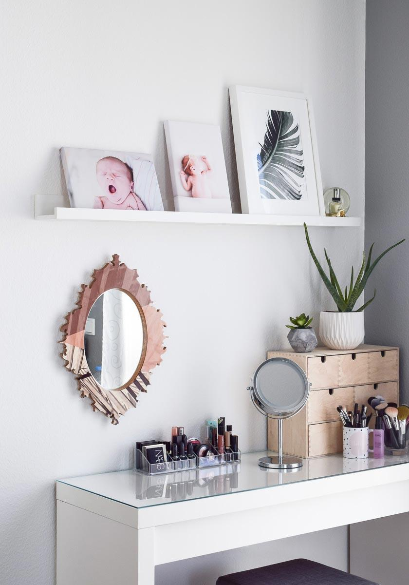 Makeup table: 60 ideas to decorate and organize 36