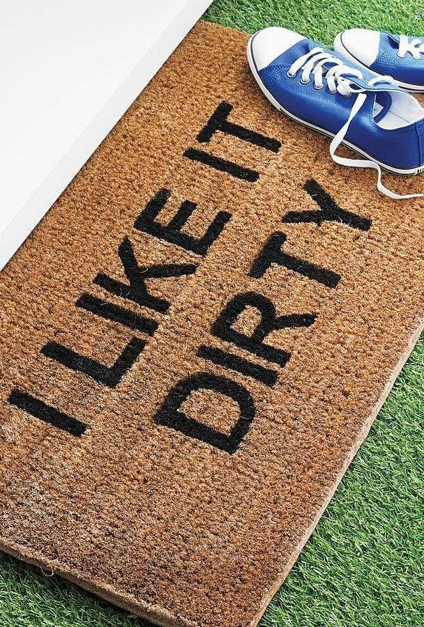 Funny doormats: welcome to brighten your home 12