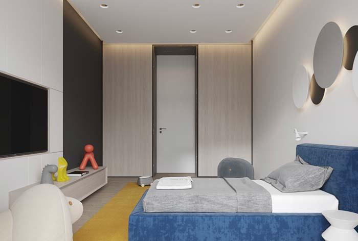 Indirect lighting in the molding