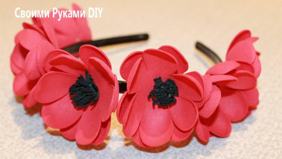 EVA Flowers: 70 ideas, templates and step by step 56