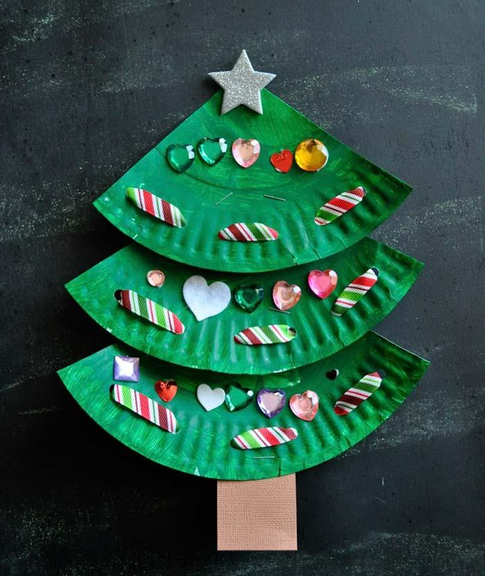 Recycled Christmas Tree Template
