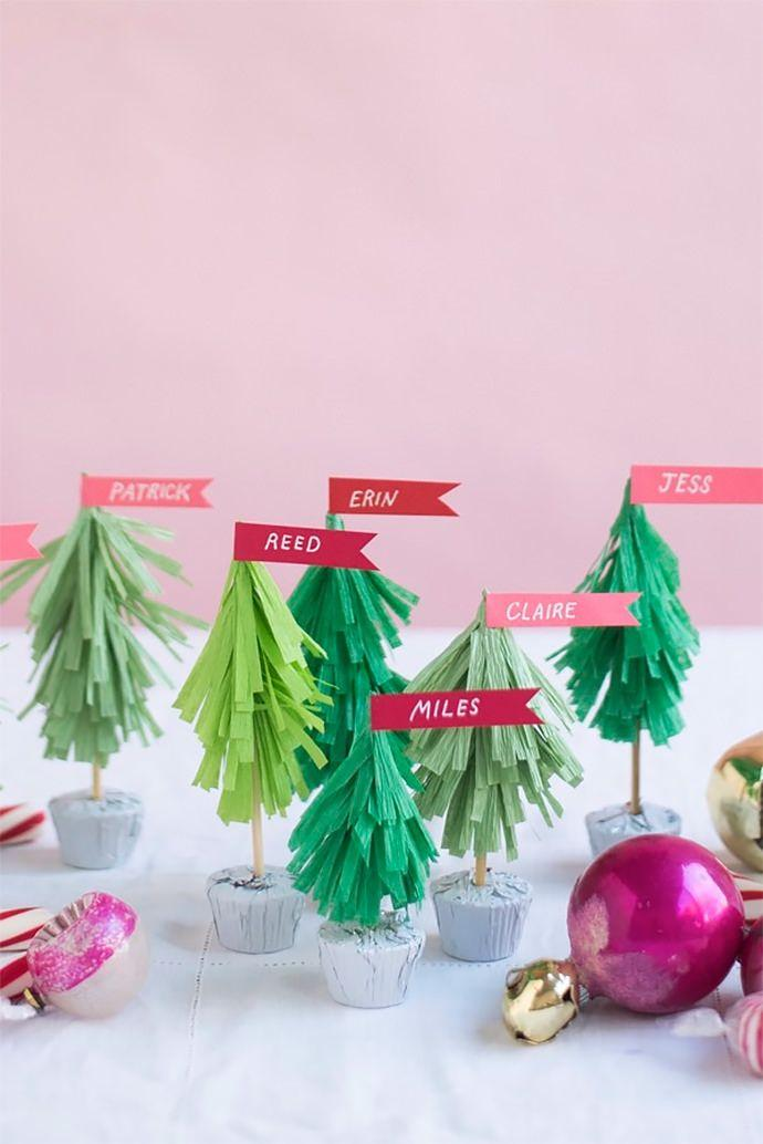 Handcrafted Christmas tree: 65 inspirations and ideas for your production