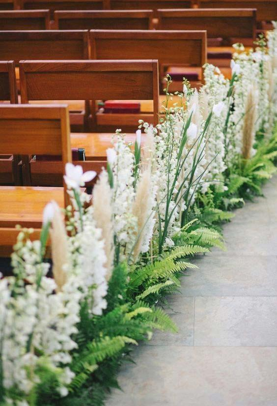 Church Decor for Wedding: 60 Creative Ideas to Be Inspired