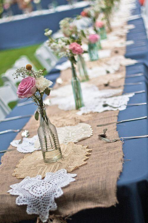 Table Decoration with Bottle: see beautiful ideas to decorate the table 36