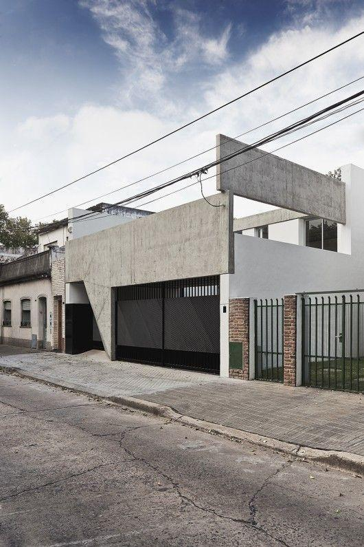 Walls of houses: modern wall