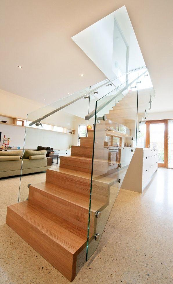 Stainless steel handrail: see tips and 60 models with photos 49
