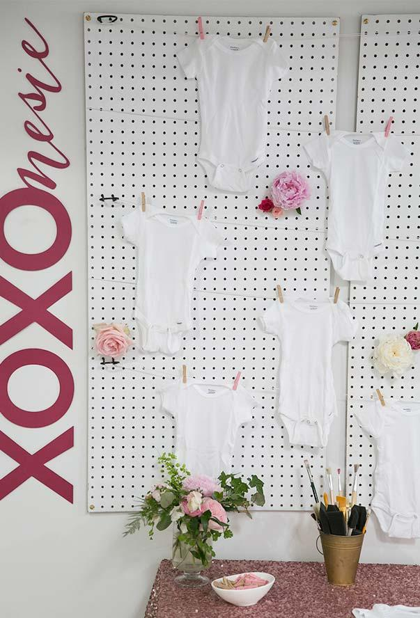 Baby Cha: Tips on how to organize and 60 decorating photos 6