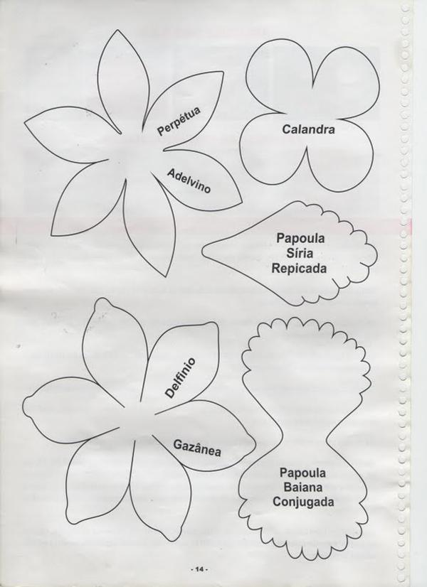 Flowers of EVA: 70 ideas, molds and step by step 71