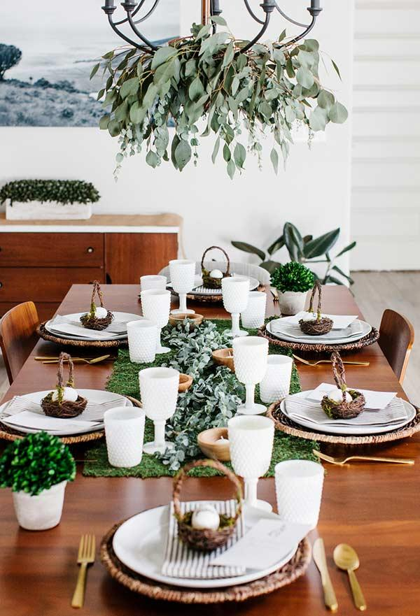 Bring elements of nature into the decoration