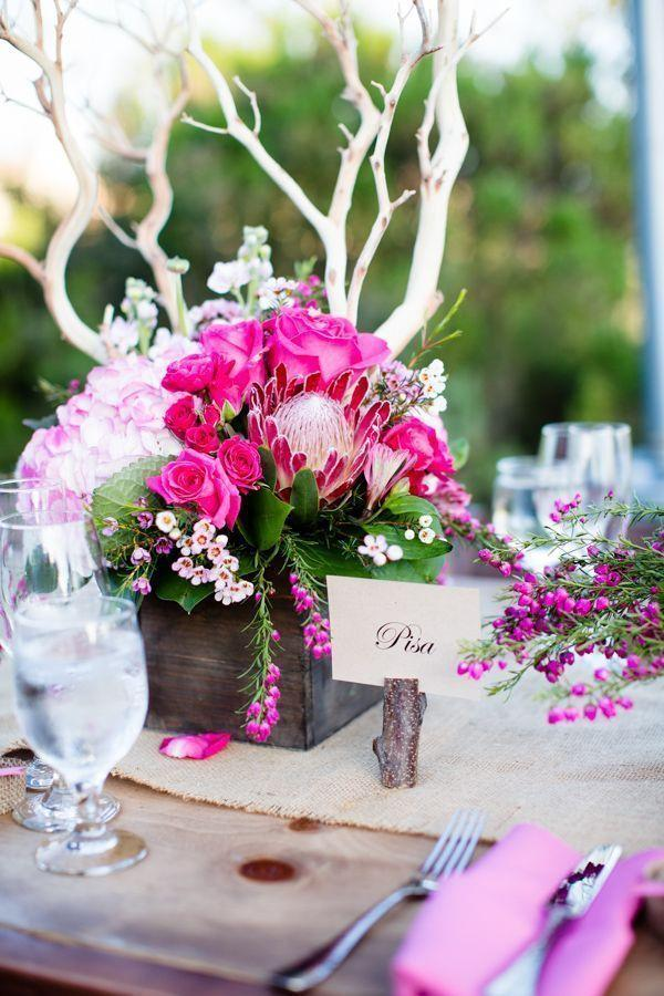 Wedding arrangements: 70 ideas for table, flowers and decoration 42