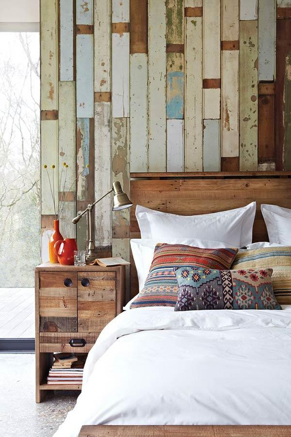 A more rustic style for the wall
