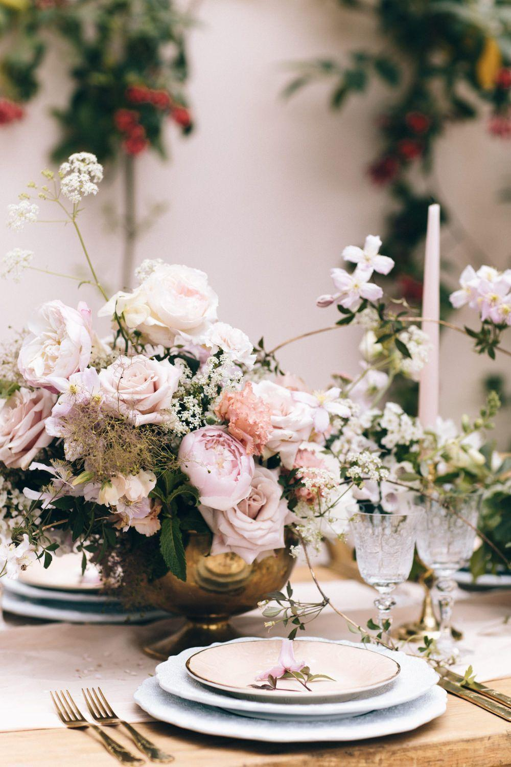 Wedding arrangements: 70 ideas for table, flowers and decoration 43
