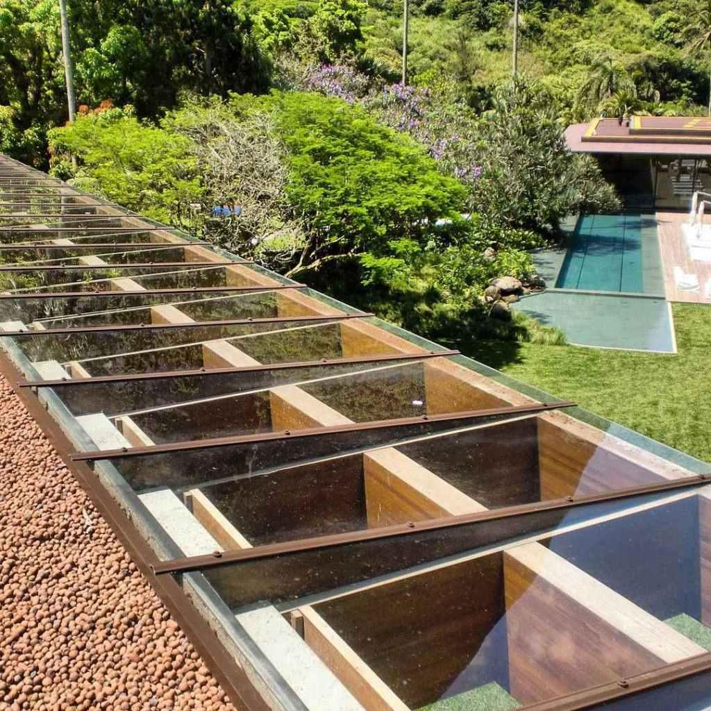 Glass roof: advantages, 60 photos and ideas to be inspired 18