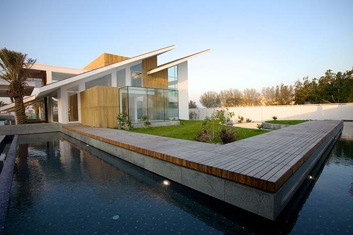 Modern architecture design with Skillion roof