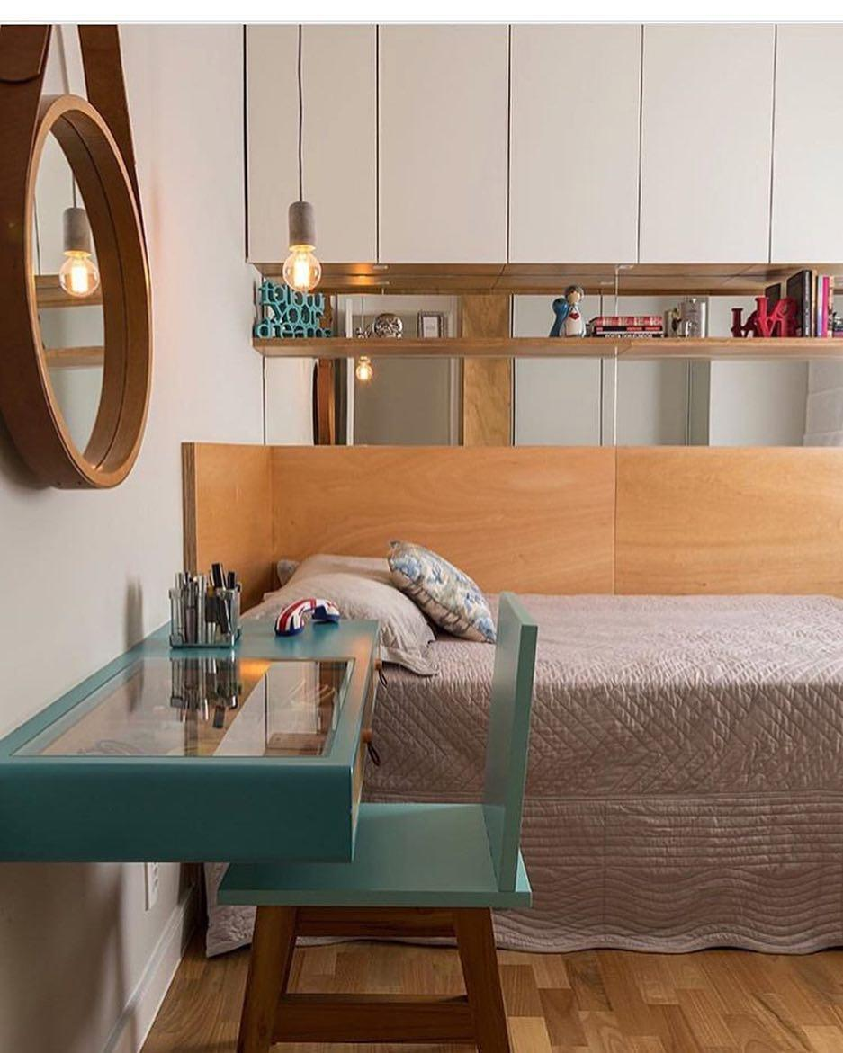 Dedicated bedroom desk for a young
