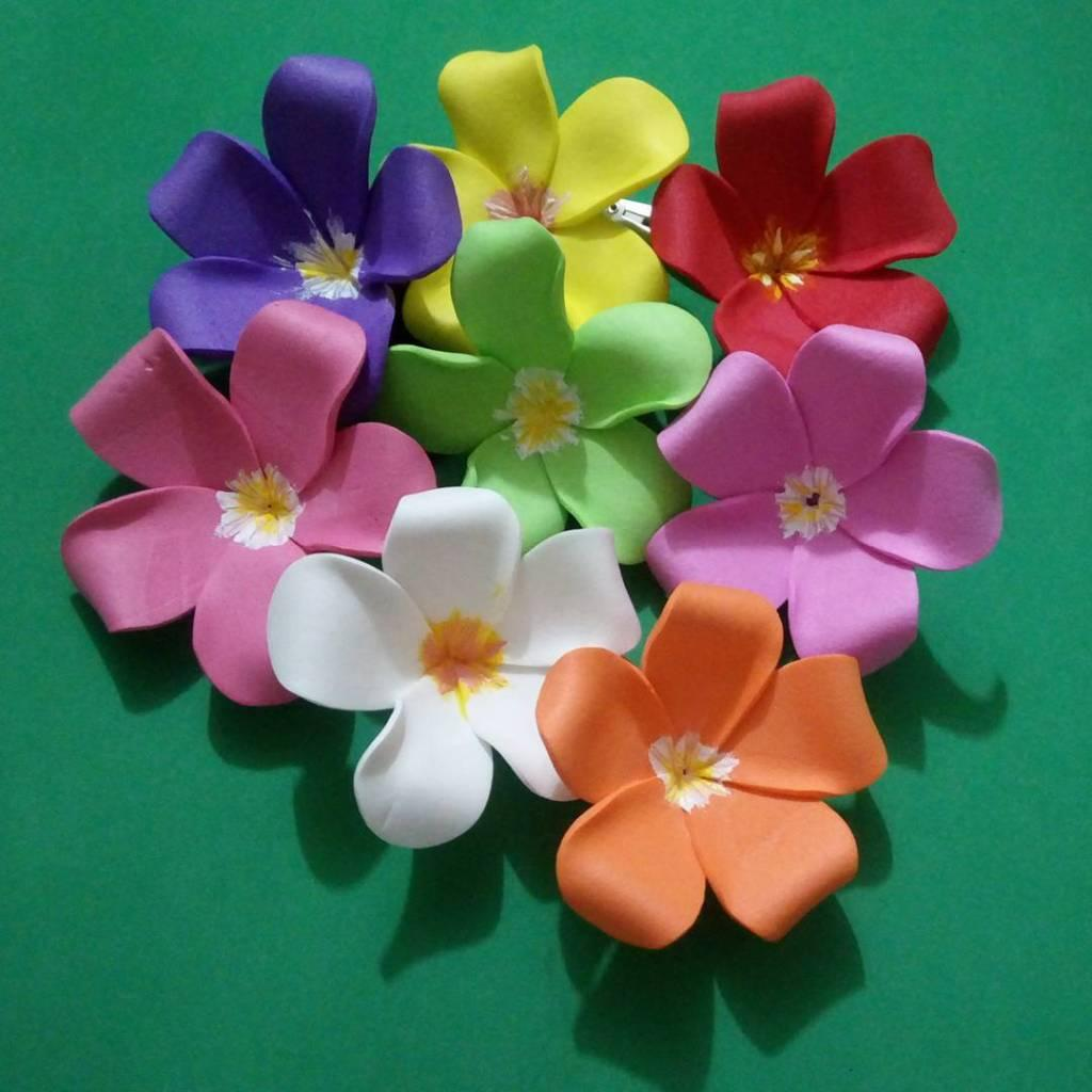 EVA Flowers: 70 ideas, templates and step by step 15