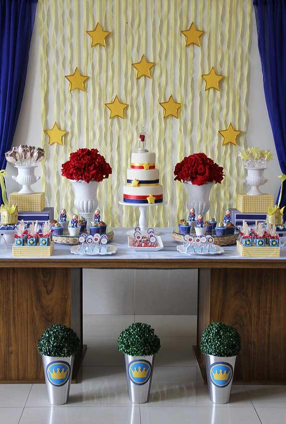 Main table with several sweets