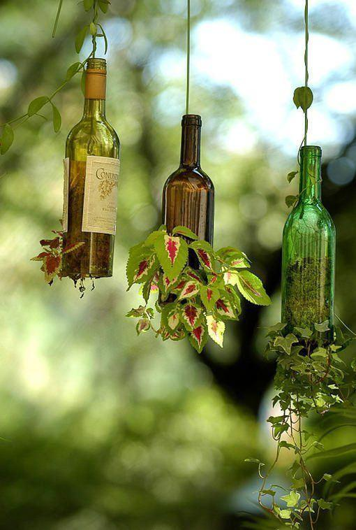 Craft with Glass Bottle: 80 Awesome Tips and Photos 3