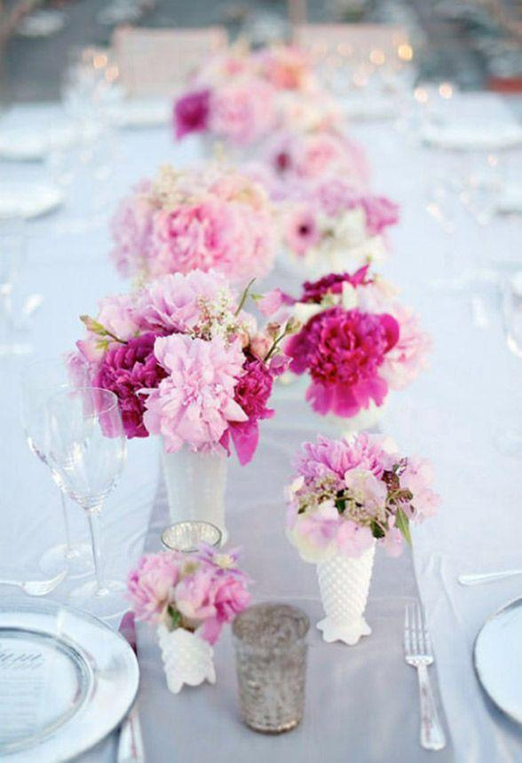 Wedding arrangements: 70 ideas for table, flowers and decoration 21