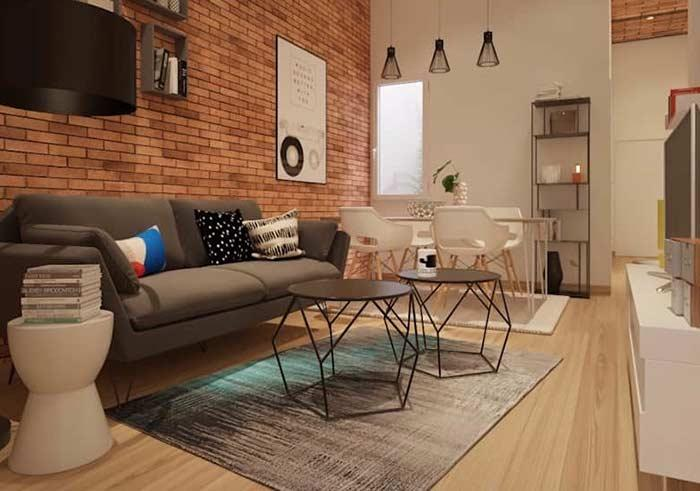 Increase the feeling of amplitude with this type of floor