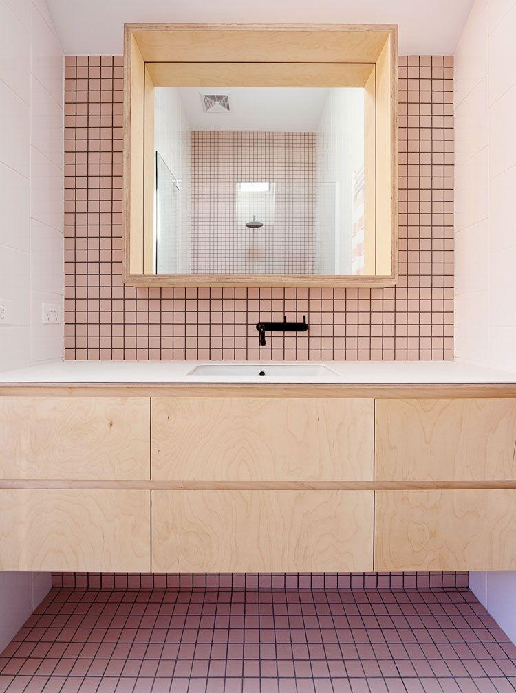 Bathroom coatings: types, models and photos 15