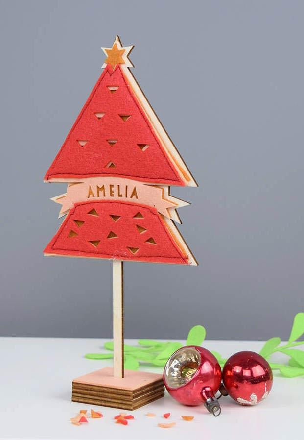 Christmas ornaments in felt: ideas to use in decoration 1