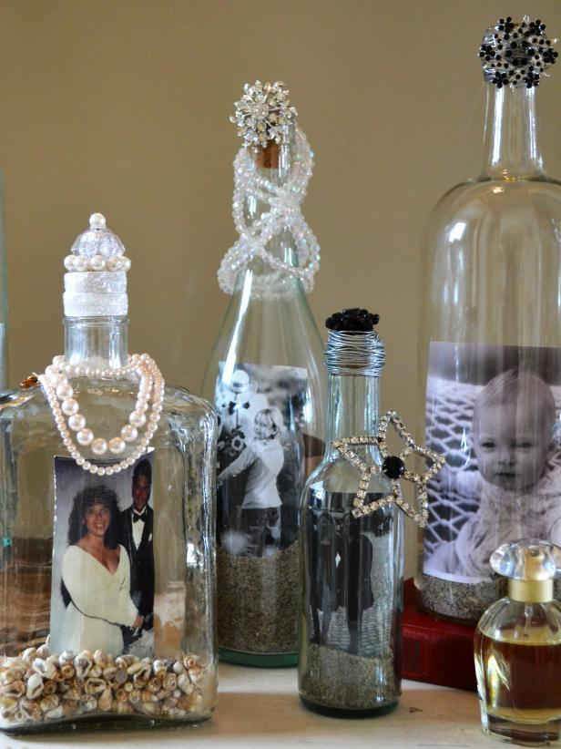 Glass Bottle Craft: 80 Awesome Tips and Photos 76