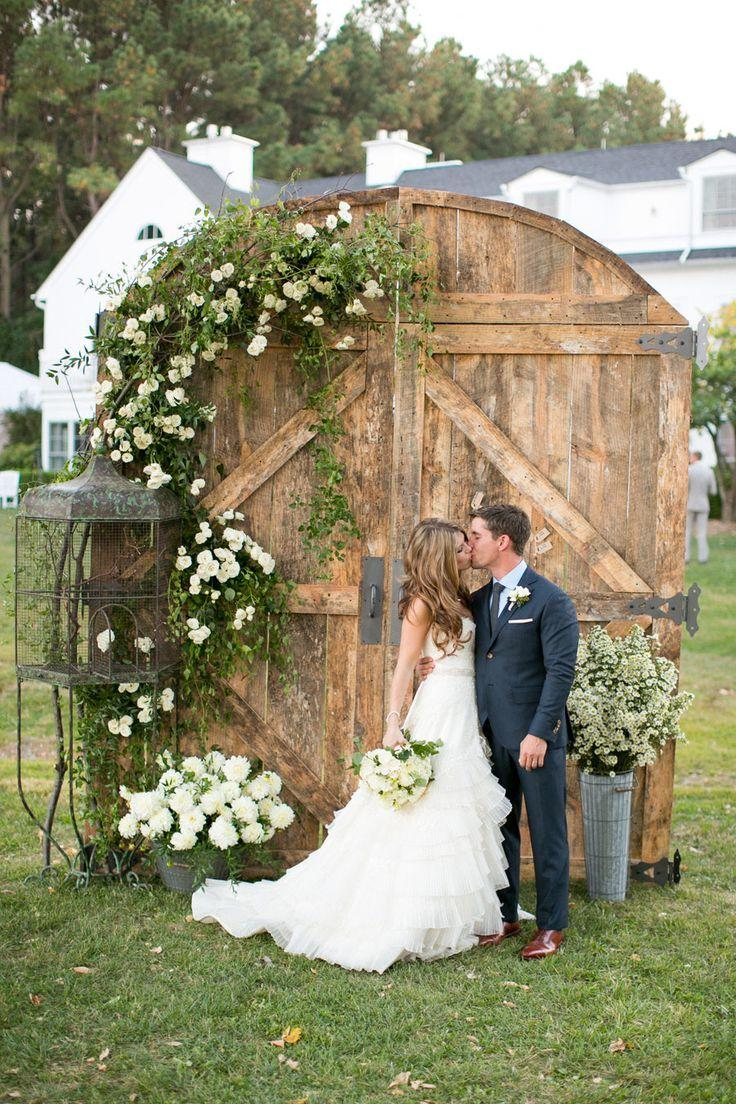 Rustic wedding: 80 decorating ideas, photos and DIY 11